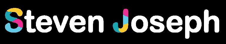 Steven Joseph author white logo